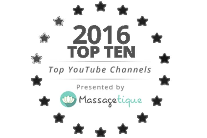 Best of 2016: Massagetique's Top 10 Massage Therapy YouTube Channels